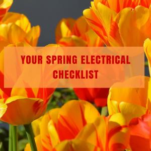 spring electrical checklist